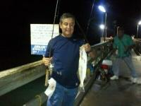 "Click to enlarge image Beto Quezada started if off with this 19"" trout on Friday Sept. 16th, 2011 - Trouts Galore! -"